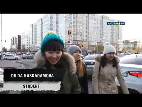 My day in Kazakhstan #4 (12.12.15) Kazakh TV eng