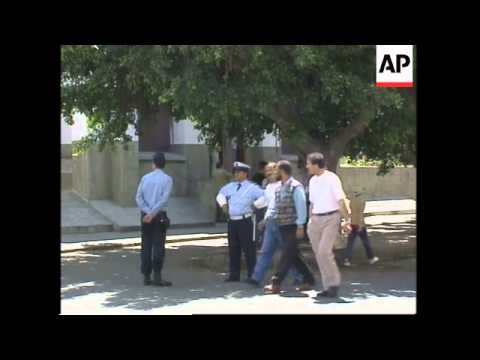 King visits bomb sites, more of aftermath, Spanish ambassador
