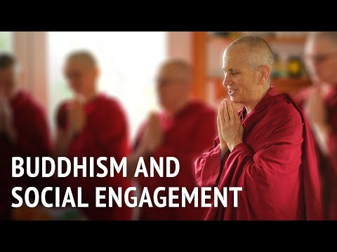 Buddhism and social engagement
