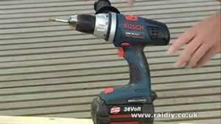 Bosch Tools - 36 V-Li Cordless Drill Driver