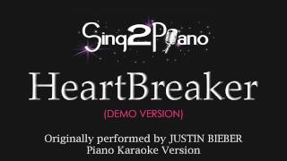 Heartbreaker (Piano Karaoke Version) Justin Bieber