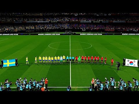 SWEDEN vs SOUTH KOREA   Group F   FIFA World Cup Russia 18 June 2018 Gameplay