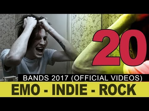 TOP 20 Emo Bands 2017 (official videos)