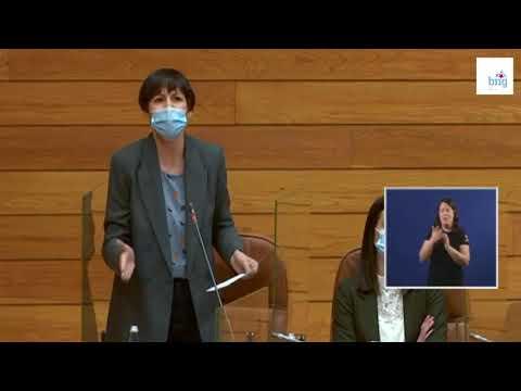Ana Pontón: «Feixoo vén ao Parlamento a montar lío para non dar conta da súa xestión»