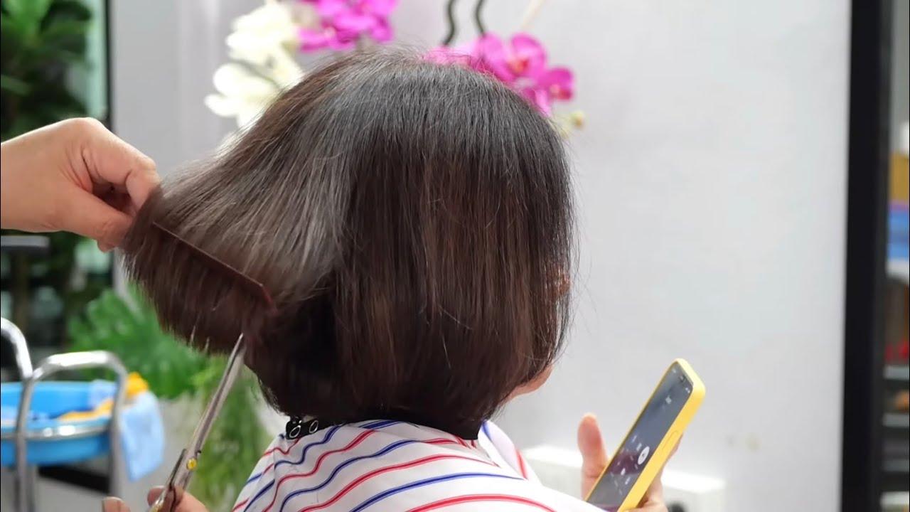 beautiful Bob haircut
