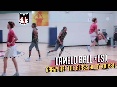 LSK & LAMELO EXPOSING IN PICKUP GAMES!!  5v5 vs Chino Hills