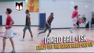 LSK & LAMELO EXPOSING IN PICKUP GAMES!!  5v5 vs Chino Hills