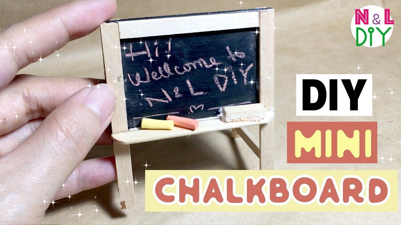DIY miniature Blackboard kit
