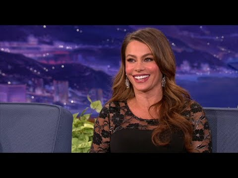 Sofia Vergara Interview Part 02 - Conan on TBS