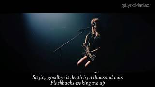 Taylor Swift - Death by a thousand cuts (Live from Paris HD)