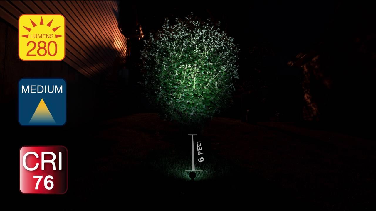 Led landscape spot light 6 watt youtube led landscape spot light 6 watt aloadofball Choice Image