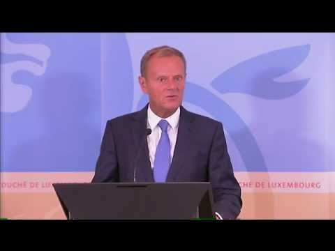 President Tusk meets Prime Minister of of Luxembourg