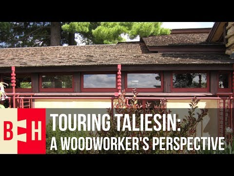 Touring Taliesin: A Woodworker's Perspective