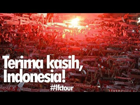 Liverpool Vs Indonesia: Singing You