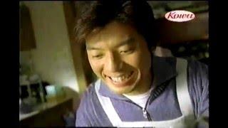 2005年ごろのキャベジンのCMです。上川隆也さんが出演されてます。餃子編.