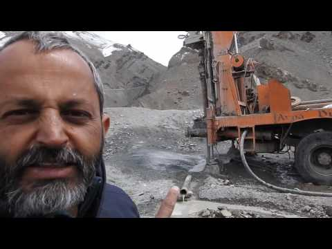 Drilling at  Indus Suture Zone for groundwater - Ritesh Arya