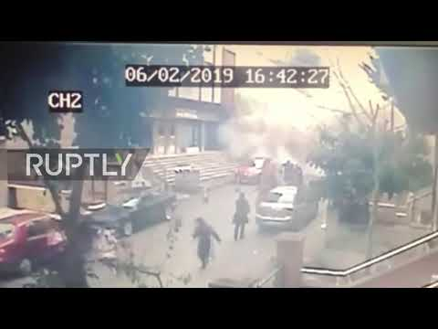 Turkey: CCTV captures moment of deadly building collapse in Istanbul