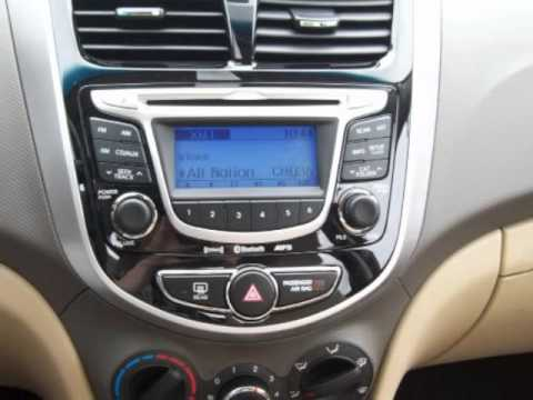 2013 hyundai accent gls youtube. Black Bedroom Furniture Sets. Home Design Ideas