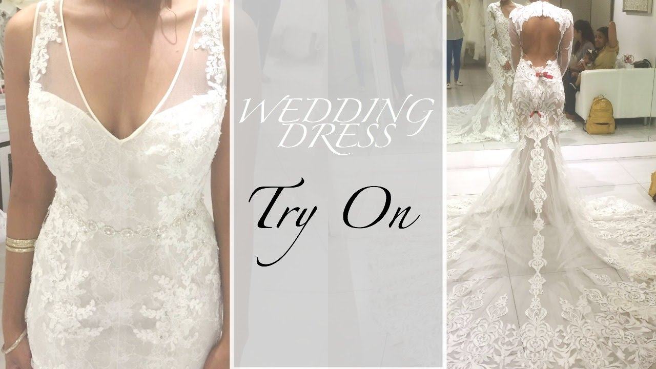 Wedding Dress Shopping Try On (Petite) + 6 Tips | Style By Two - YouTube