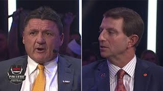 Dabo Swinney, Ed Orgeron and the CFP coaches explain how they got there | College Football on ESPN.mp3