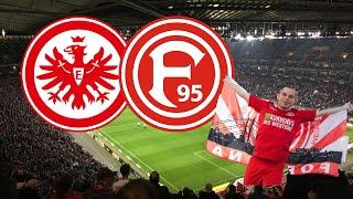 Eintracht Frankfurt - Fortuna Düsseldorf (7:1)|19.10.2018| | Fortuna Fans feiern trotz des 7:1