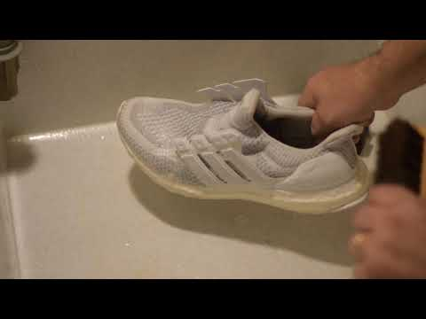Sneaker Cleaning 101 Ultraboost and Yeezy Boost 350 V2 edition