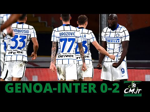 Ci pensa SEMPRE Lukaku | Serie A, Genoa-Inter 0-2: Conte respira!