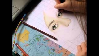 Speed Painting - Draw myself | Annas Art