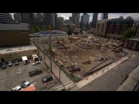 Seattle City Light -- Denny Substation Project Construction Time Lapse