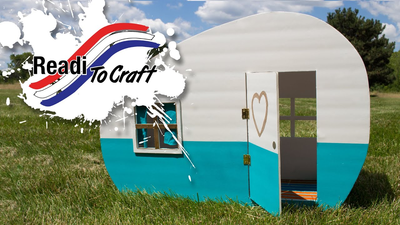 Readi to Craft: Cat Camper
