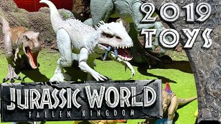 Jurassic World Dino Rivals Dinosaur Toys -  New York Toy Fair 2019