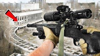 AIMBOT??? - Airsoft Sniper