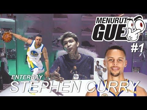 MENURUT GUE #1 : ENTERBAY : Stephen Curry (Action Figure)