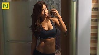 カッコいい女性の筋トレ!ワナビー・リンダ | Wannabe Linda beautiful workout