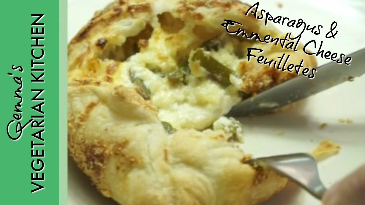Asparagus And Emmental Cheese Feuillet�s  Vegetarian Recipe Ideas For  Meatless Monday