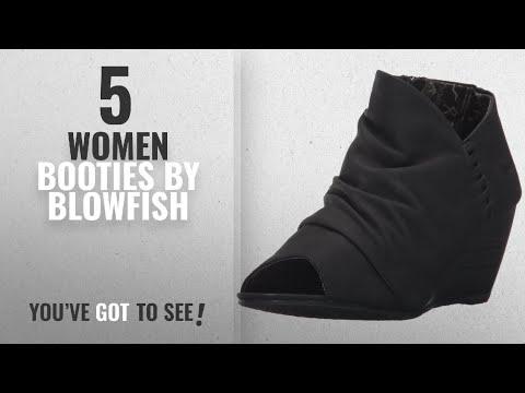 Top 10 Blowfish Women Booties [2018]: Blowfish Women's Bonnie Ankle Bootie,Black Texas