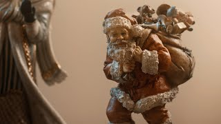The History of Santa | Santa Claus Collecting / The Golden Glow of Christmas Past: Opening The Door