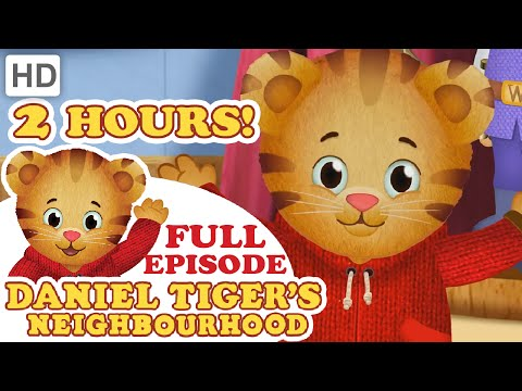 Daniel Tiger - Full Episode Compilation (2 Hours)