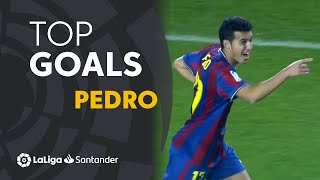 Pedro Rodríguez: Golazos con el FC Barcelona en LaLiga Santander