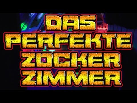 Gamer zimmer einrichten  Das (Perfekte) Zockerzimmer / Spritzer Ecke - YouTube