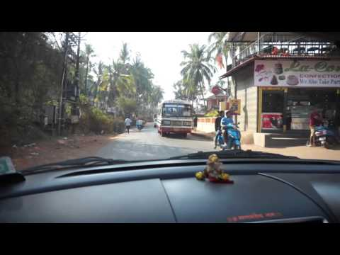 Такси из Кандолима в Старый Гоа, Индия | Taxi from Candolim to Old Goa, India