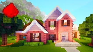 Realistic Suburban Redstone House - MINECRAFT REDSTONE MAPS