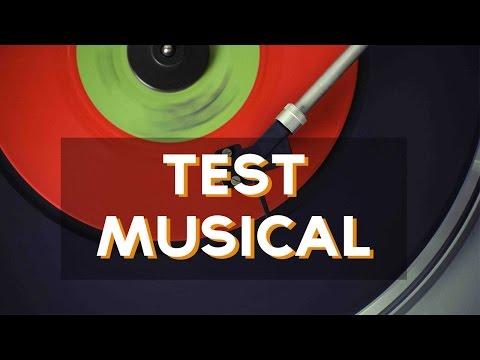 ¿Qué tipo de música eres? | Test Divertidos