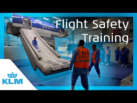 KLM Intern On A Mission - Flight Safety Training