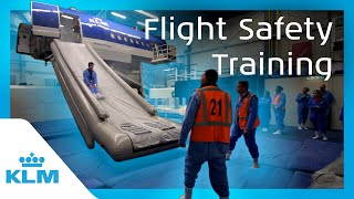 KLM Intern On A Mission - Flight Safety Training