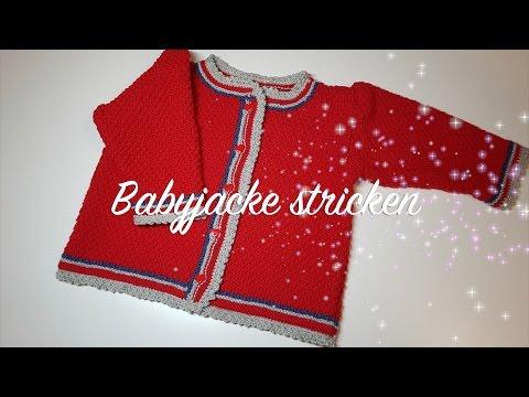 Babyjacke stricken Anleitung – Jacke stricken für Kinder