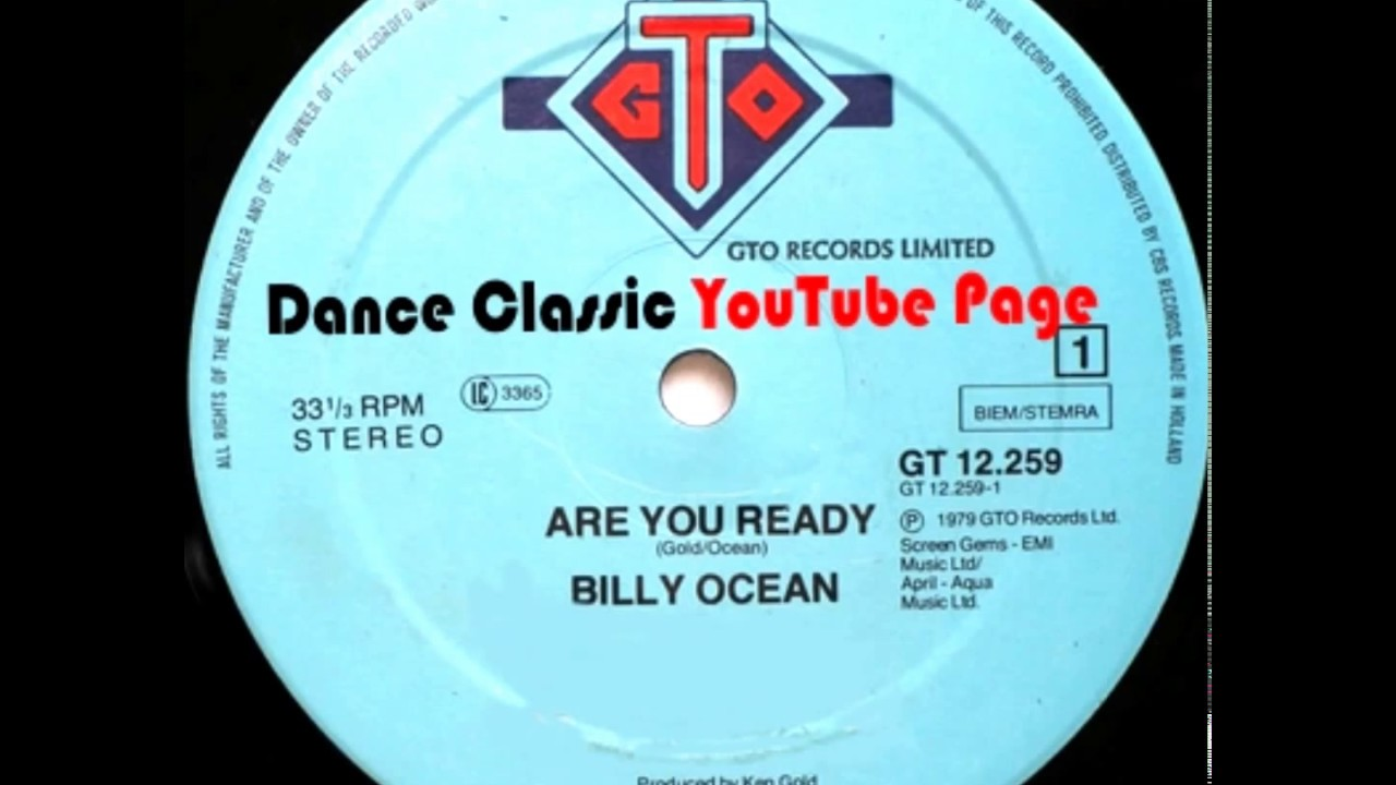 Billy Ocean - Are You Ready (Extended)