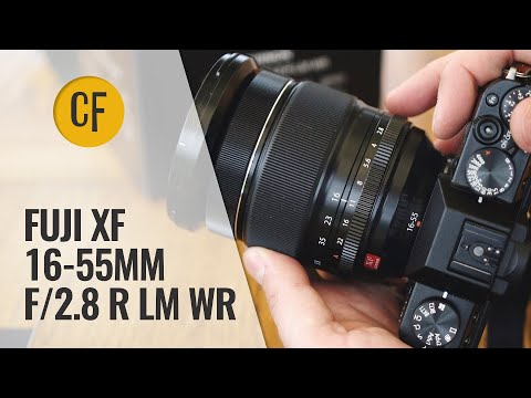 Fuji XF 16-55mm f/2.8 R LM WR lens review with samples