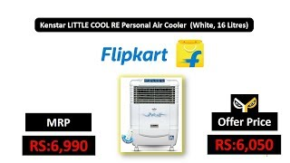 Kenstar LITTLE COOL RE Personal Air Cooler (White, 16 Litres)