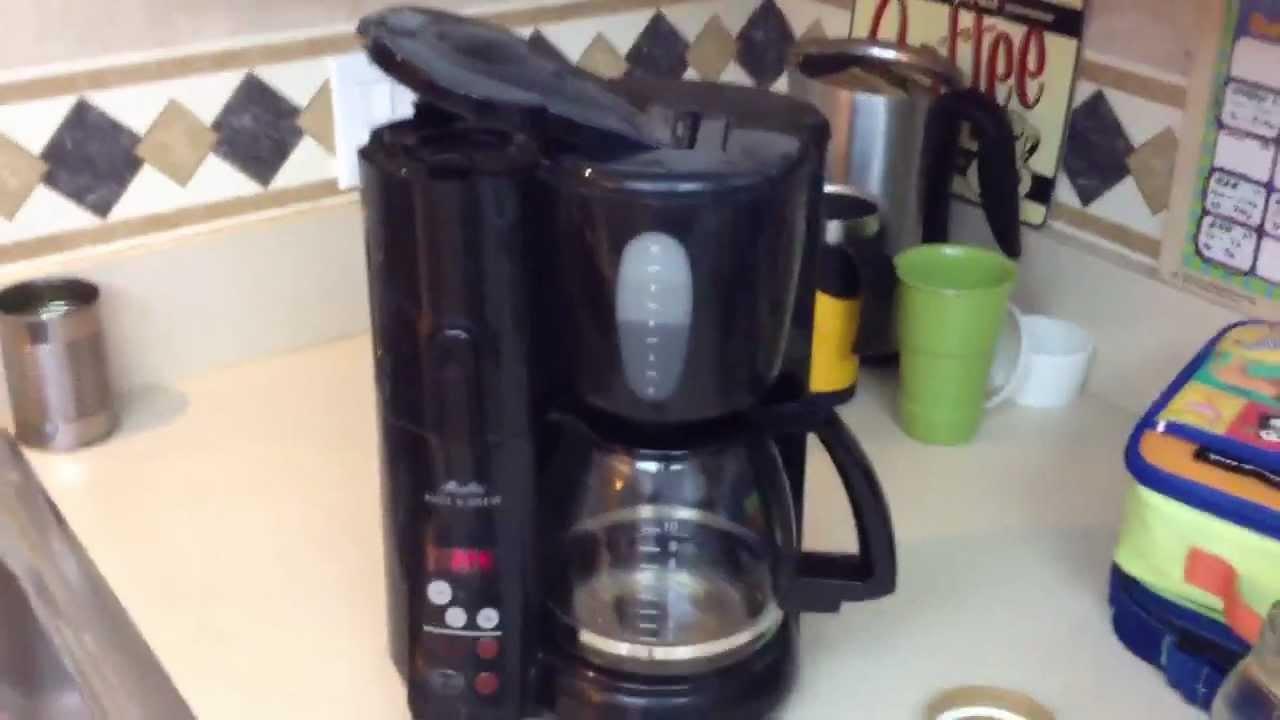 How To Fix Melitta Mill Brew Coffee Pot